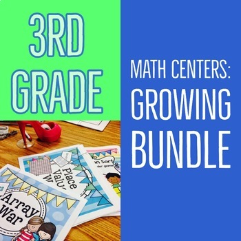 Third-Grade Math Centers & Games
