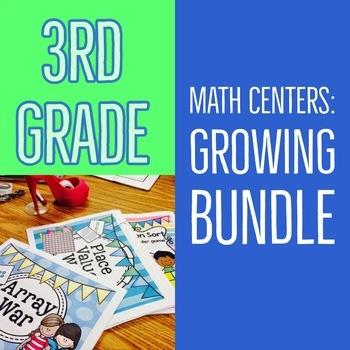 Third-Grade Math Centers & Games
