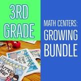 Third-Grade Math Centers & Games BUNDLE