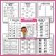 Math & Literacy Worksheets Kindergarten MEGA BUNDLE Fall Worksheets Kindergarten