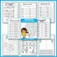 GROWING BUNDLE - No Prep Math Worksheets for Kindergarten