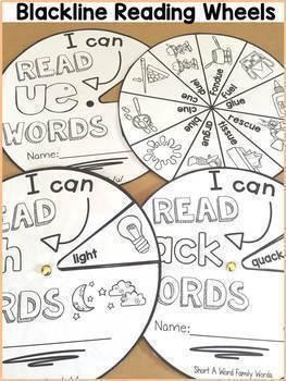 MEGA BUNDLE: PHONICS: READING/SPELLING WORD WHEELS MEGA BUNDLE