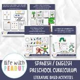 GROWING BUNDLE, Preschool Curriculum, Teach English & Span