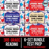 SETS 1-6 BUNDLE - STAAR READY 3rd Grade Reading Task Cards  {TEKS-aligned}