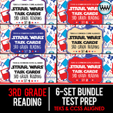 BUNDLE - STAAR WARS 3rd Grade Reading Task Cards ~ SETS 1-6