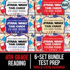 BUNDLE - STAAR WARS 4th Grade Reading Task Cards ~ SETS 1-6