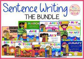Sentence Writing THE BUNDLE