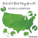 US State Map Bundle