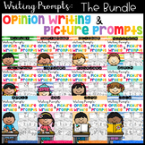 Writing Prompts: Opinion Writing & Picture Prompts (THE BUNDLE)