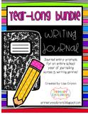 Year-Long Writing Journal Bundle