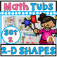 GROWING BUNDLE! Year of Morning Math Tubs or Math Centers