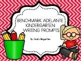 BENCHMARK ADELANTE KINDERGARTEN WRITING PROMPTS UNITS 1-10