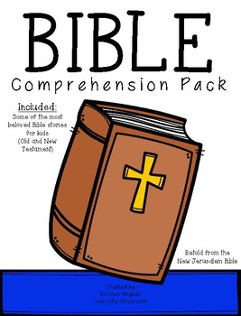 Bible Comprehension Pack