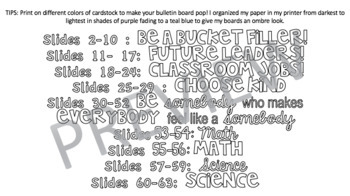 GROWING Bulletin Board Bundle!