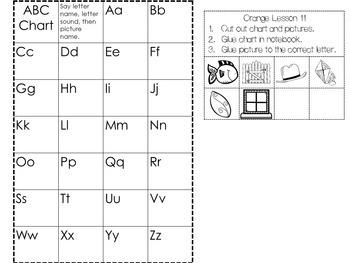 Bundle of Interactive Notebook Leveled Literacy Intervention LLI Orange