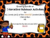 Bundle of Interactive Notebook LLI Orange 1st Edition