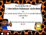 Bundle of Interactive Notebook LLI Orange 1st Edition