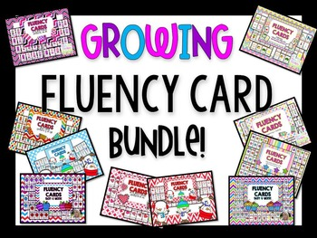 GROWING Fluency Card Bundle!