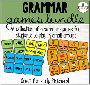 GROWING Grammar Games Bundle