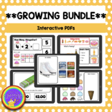 Distance Learning GROWING Interactive PDF Bundle