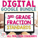 3rd Grade MEGA BUNDLE Fractions for Google Classroom