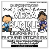 GROWING MEGA BUNDLE: Differentiated SEL Stories with TDA & Reading Skill Focus