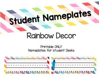 GROWING Rainbow Decor Bundle