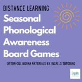GROWING Seasonal & Monthly Phonological Awareness Board Games