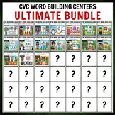 GROWING Ultimate CVC Word Building BUNDLE PACK