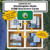 GROWING Washington STEM Discovery Cards Kit (Buy 3 now, get free 3 later!)