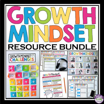 GROWTH MINDSET ACTIVITIES, POSTERS, ASSIGNMENTS, PRESENTATIONS, & HANDOUTS