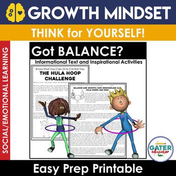 GROWTH MINDSET Activities | BALANCE | The Power of Zen