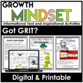 GROWTH MINDSET Activities | GRIT