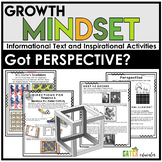 GROWTH MINDSET Activities   PERSPECTIVE   MC Escher   Optical Illusions