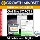 GROWTH MINDSET Activities | Star Wars Version