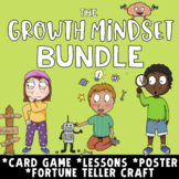 GROWTH MINDSET BUNDLE: Lessons, Games, Decor & Craft on Grit & Resilience