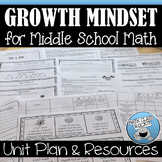 GROWTH MINDSET FOR MIDDLE SCHOOL MATH UNIT PLAN AND RESOURCES