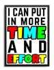 GROWTH MINDSET I CAN STATEMENT POSTERS