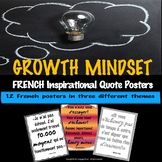 GROWTH MINDSET Inspirational Quotes in FRENCH
