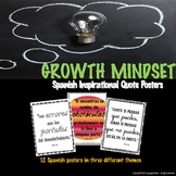 SPANISH GROWTH MINDSET POSTERS - Inspirational Quotes in SPANISH