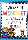 GROWTH MINDSET POSTERS - SET OF 14