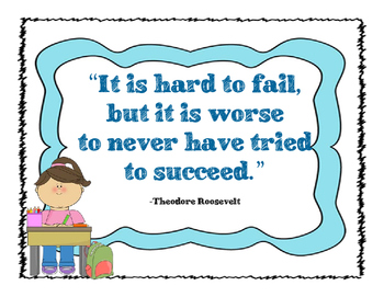 GROWTH MINDSET QUOTES/POSTERS