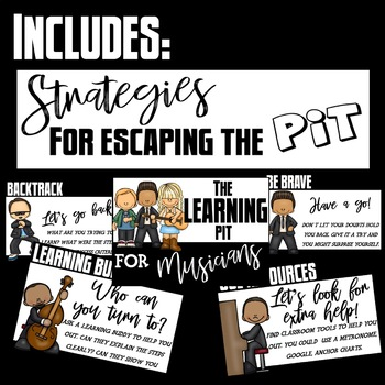 GROWTH MINDSET - THE LEARNING PIT - MUSICIAN THEMED