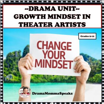 GROWTH MINDSET UNIT:  FAMOUS THEATER ARTISTS