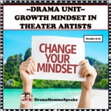 GROWTH MINDSET UNIT:  FAMOUS THEATER ARTISTS DISTANCE LEARNING