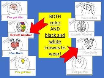 GROWTH MINDSET  crown / costume