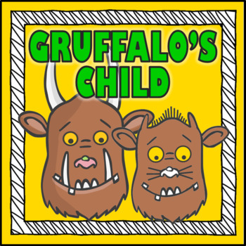 GRUFFALO'S CHILD STORY RESOURCES- LITERACY READING EYFS, KS 1-2
