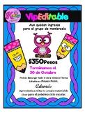 GRUPO VIP EDITABLE