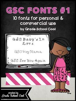 GSC Font Set #1