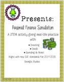 GSE Georgia Studies 8th Grade STEM Personal Finance Simulation